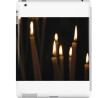 A candle to remember iPad Case/Skin