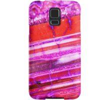 Red Purple Dragon Vein Agate Pattern Samsung Galaxy Case/Skin