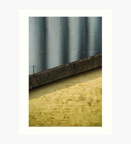 2012 London Olympic Pre-Demolition Yellow 1 Art Print