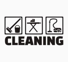 Cleaning housekeeping Kids Tee