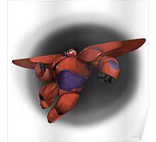 Flying Baymax Poster