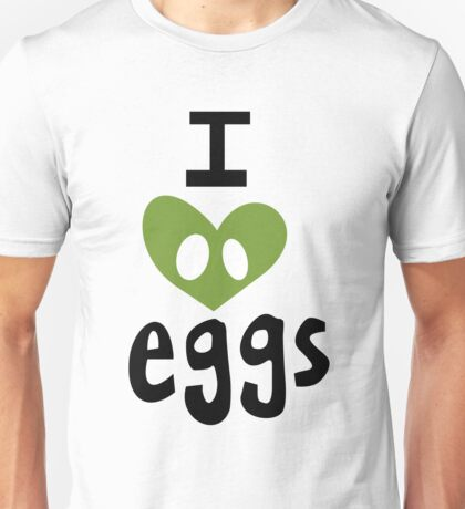 I Heart Eggs Unisex T-Shirt