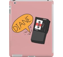 Diane - Twin Peaks Dale Cooper Quote iPad Case/Skin