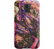 Abstract Graffiti Sea Sediment Agate Pattern Samsung Galaxy Case/Skin