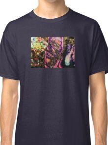 Abstract Graffiti Sea Sediment Agate Pattern Classic T-Shirt