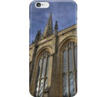 Church of St Mary the Virgin , Oxford, England iPhone Case/Skin