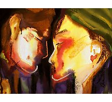 Two Heads, One Heart Photographic Print