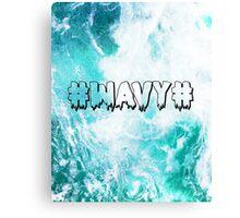 #WAVY# Canvas Print