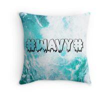 #WAVY# Throw Pillow