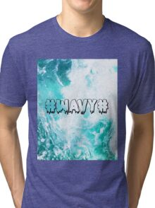#WAVY# Tri-blend T-Shirt