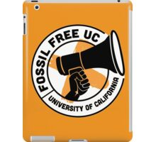 Fossil Free UC iPad Case/Skin
