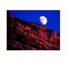 Nightly Grand Canyon Art Print