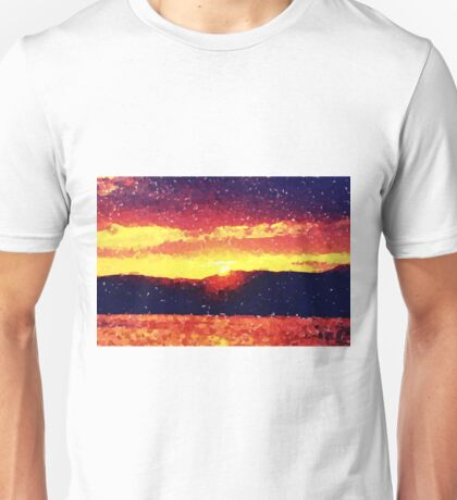 Sunset over the Island of Mull Unisex T-Shirt