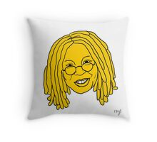 Whoopi Cushion - Yellow Throw Pillow