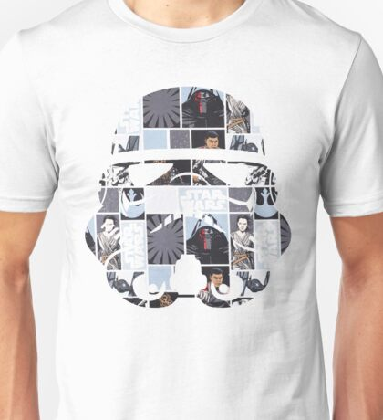 Stormtrooper Helmet - Force Awakens Unisex T-Shirt
