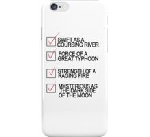 The only resume you'll ever need..  iPhone Case/Skin