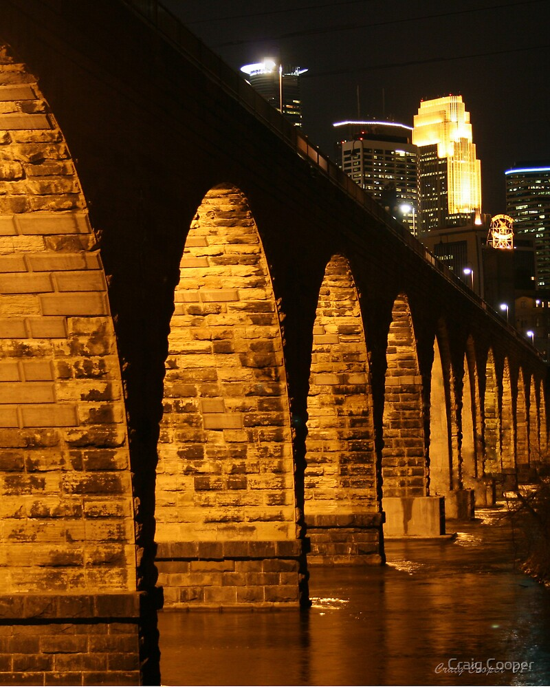 Minneapolis Stone Arch Bridge by Craig Cooper