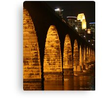 Minneapolis Stone Arch Bridge Canvas Print