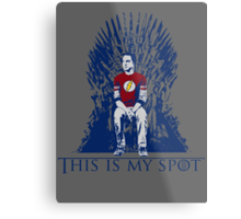 The Iron Throne Paradox Metal Print