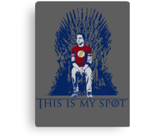 The Iron Throne Paradox Canvas Print