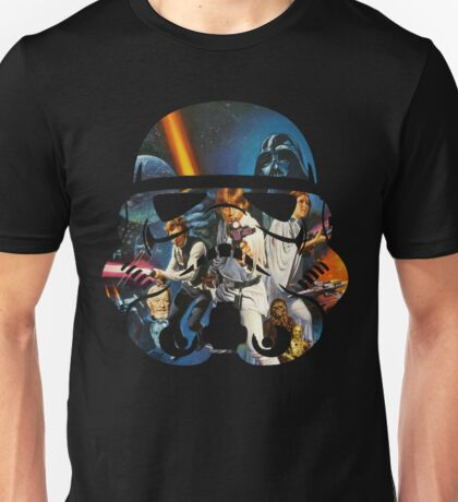Stormtrooper Helmet - New Hope Official Unisex T-Shirt