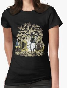 Wasteland Time Womens Fitted T-Shirt