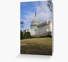 Capital Building Washington Greeting Card