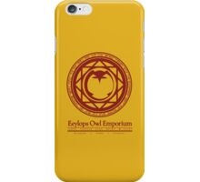Eeylops Owl Emporium in Red iPhone Case/Skin