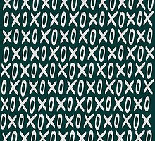 XOXO Pattern by Leah Flores