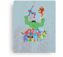 marvel superheroes Canvas Print