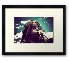 I Wish I may..I Wish I Might... Framed Print