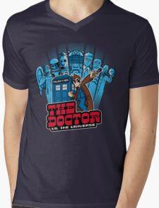 Doctor Pilgrim 10th Edition Mens V-Neck T-Shirt