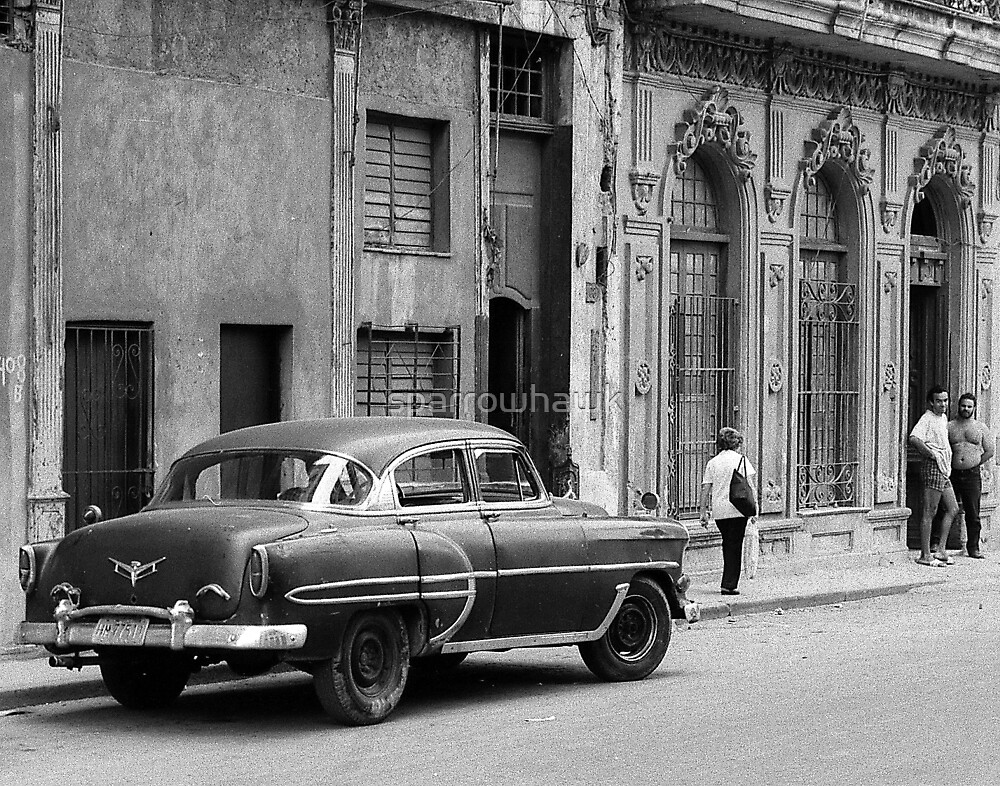 Havana Cuba Series - Car by sparrowhawk