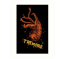 Tremors digital art print Art Print