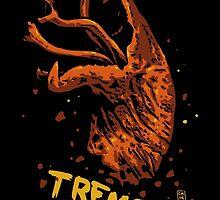 Tremors digital art print by ColeMunroChitty