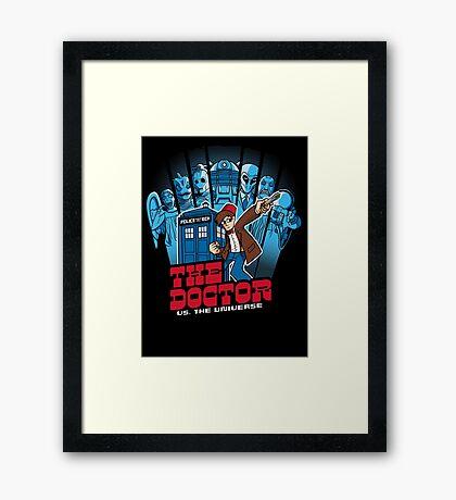 Doctor Pilgrim 11th Edition Framed Print