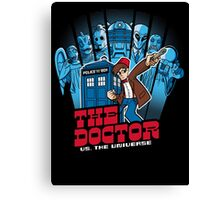 Doctor Pilgrim 11th Edition Canvas Print