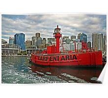 Carpentaria - Light Ship CLS4 in Retirement Poster