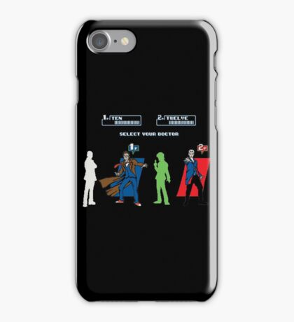 Select Your Doctor iPhone Case/Skin