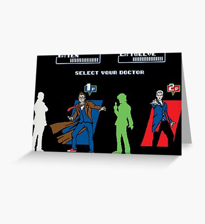 Select Your Doctor Greeting Card