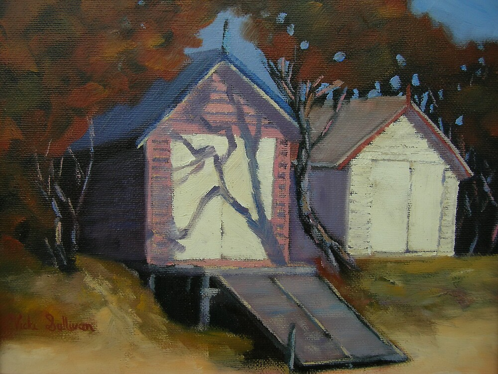 Blairgowrie Boat sheds by avocado