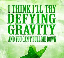 defying gravity by chicamarsh1