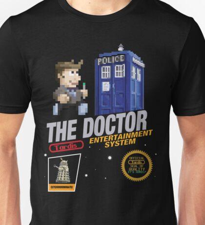 The Doctor 8 bit Cartridge Unisex T-Shirt