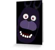 Five Nights At Freddy's Bonnie Greeting Card