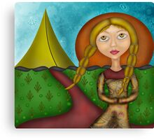 Princess of the Tents Canvas Print