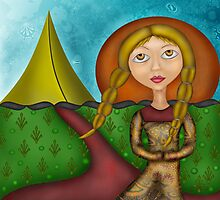 Princess of the Tents Photographic Print
