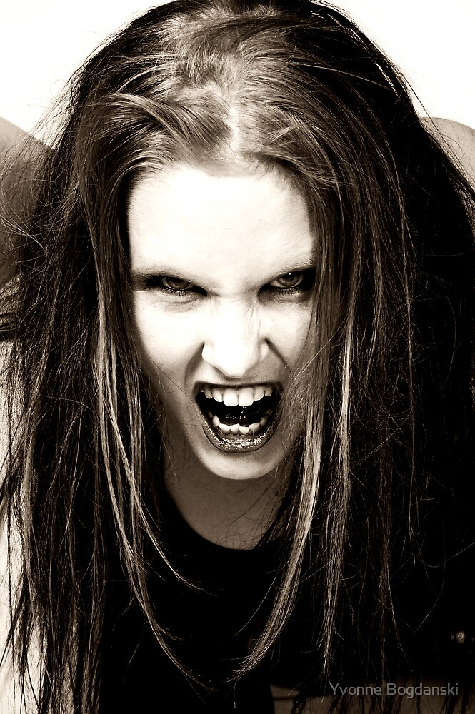 angry by Yvonne Bogdanski