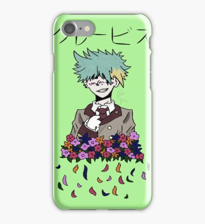 Clavis likes Flowers iPhone Case/Skin