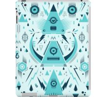 Triangle Alien Transformer Attack  iPad Case/Skin