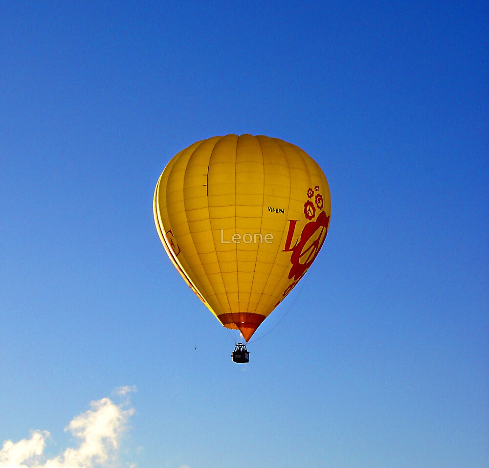 Hot Air Balloon by Leone Fabre